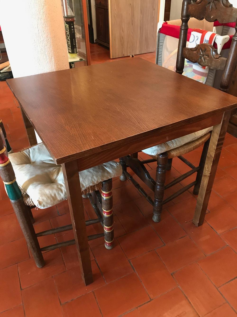 Table de restaurant plateau carr 76 x 80 x 80 cm carvajal - Plateau de table restaurant ...
