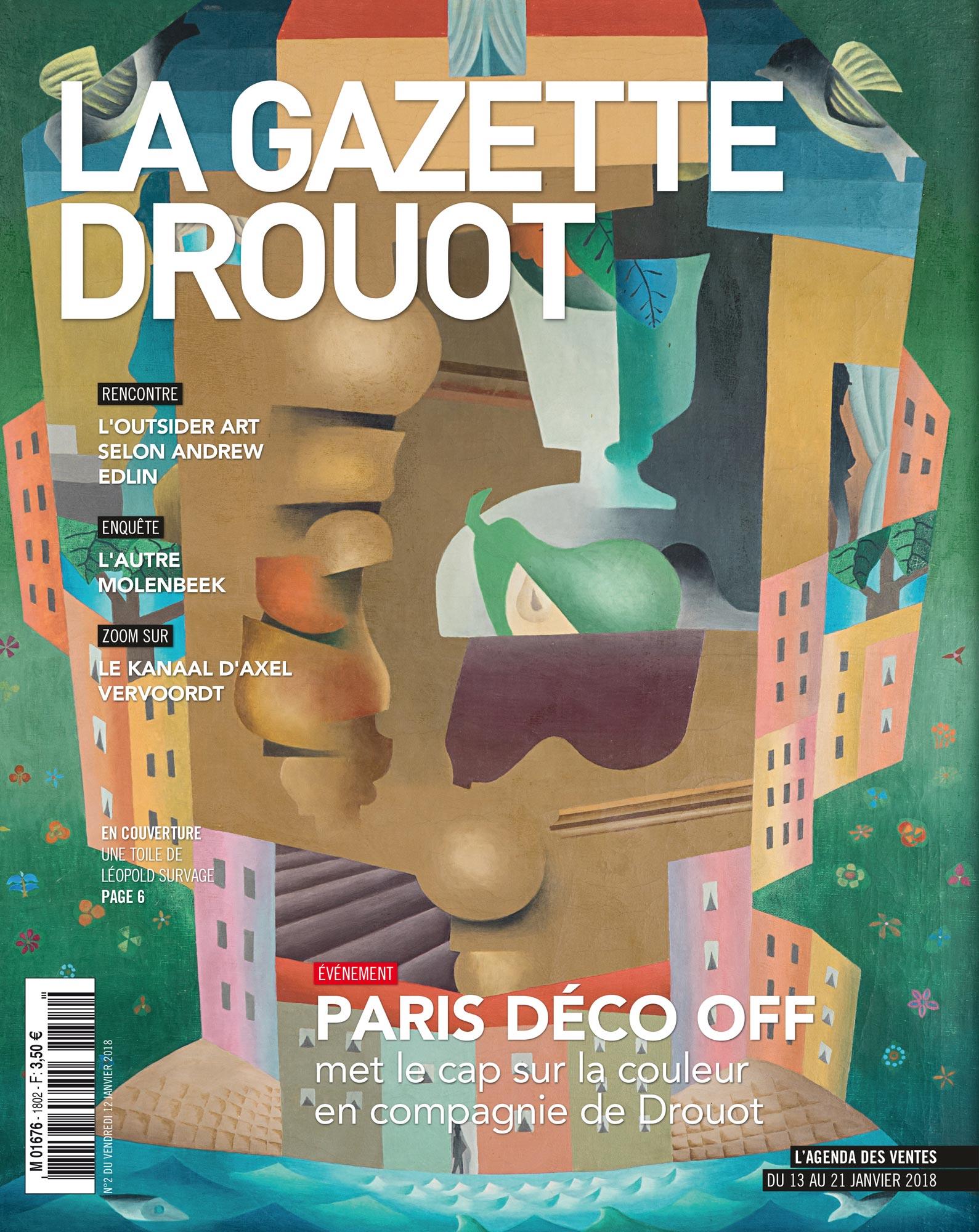 Gazette Drouot #2 du 12 JANVIER 2018