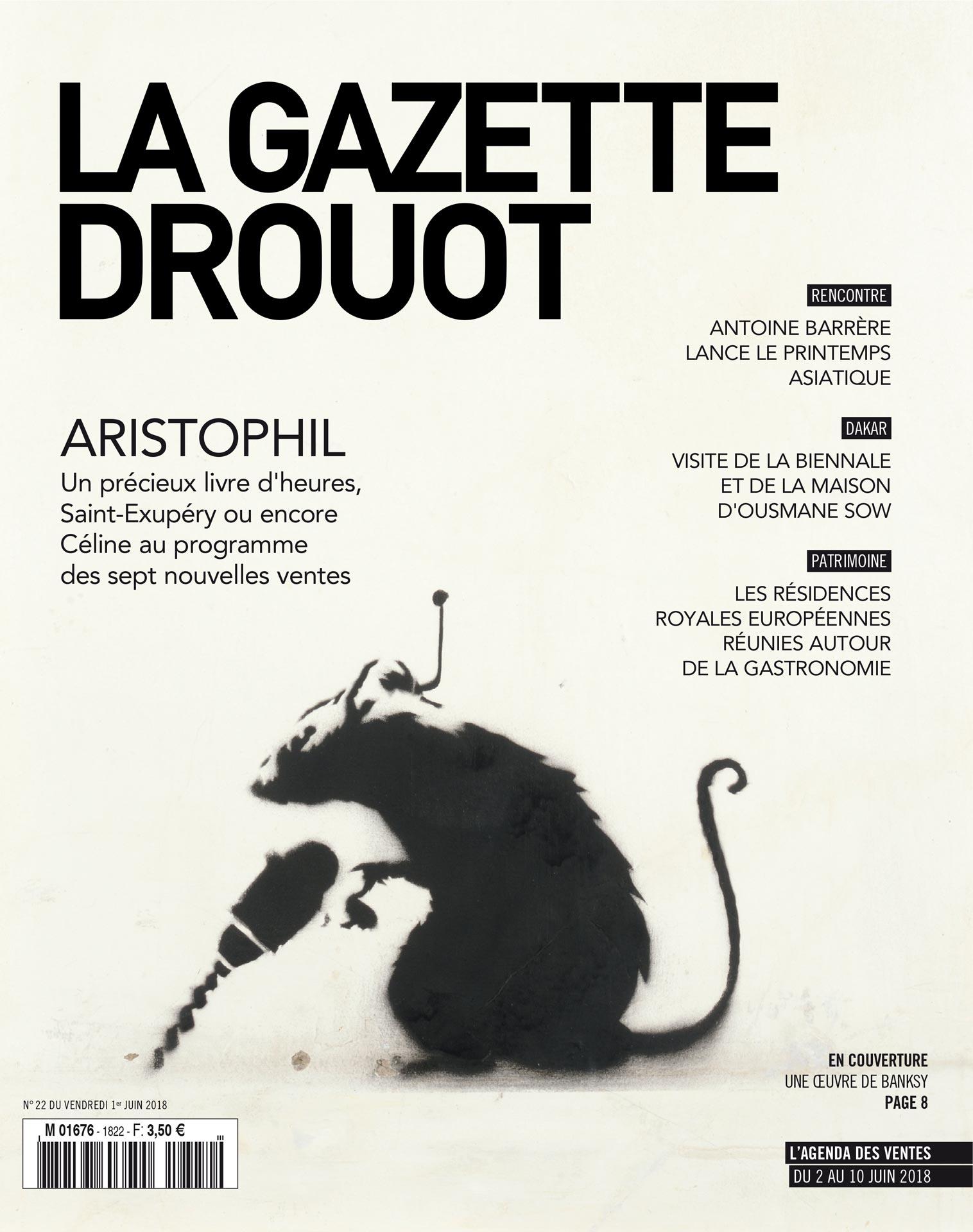 Gazette Drouot #22 du 1er JUIN 2018