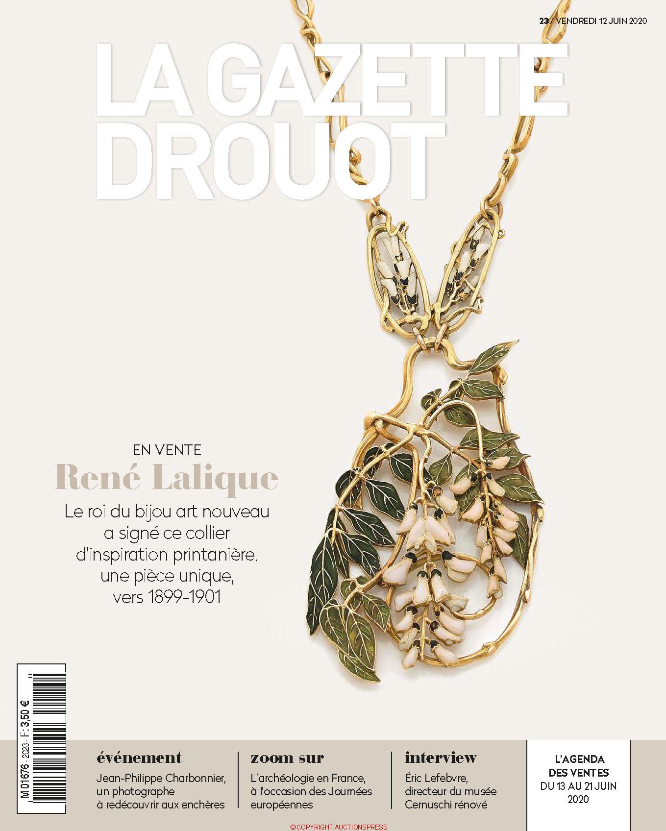 Gazette Drouot #23 du 12 JUIN 2020